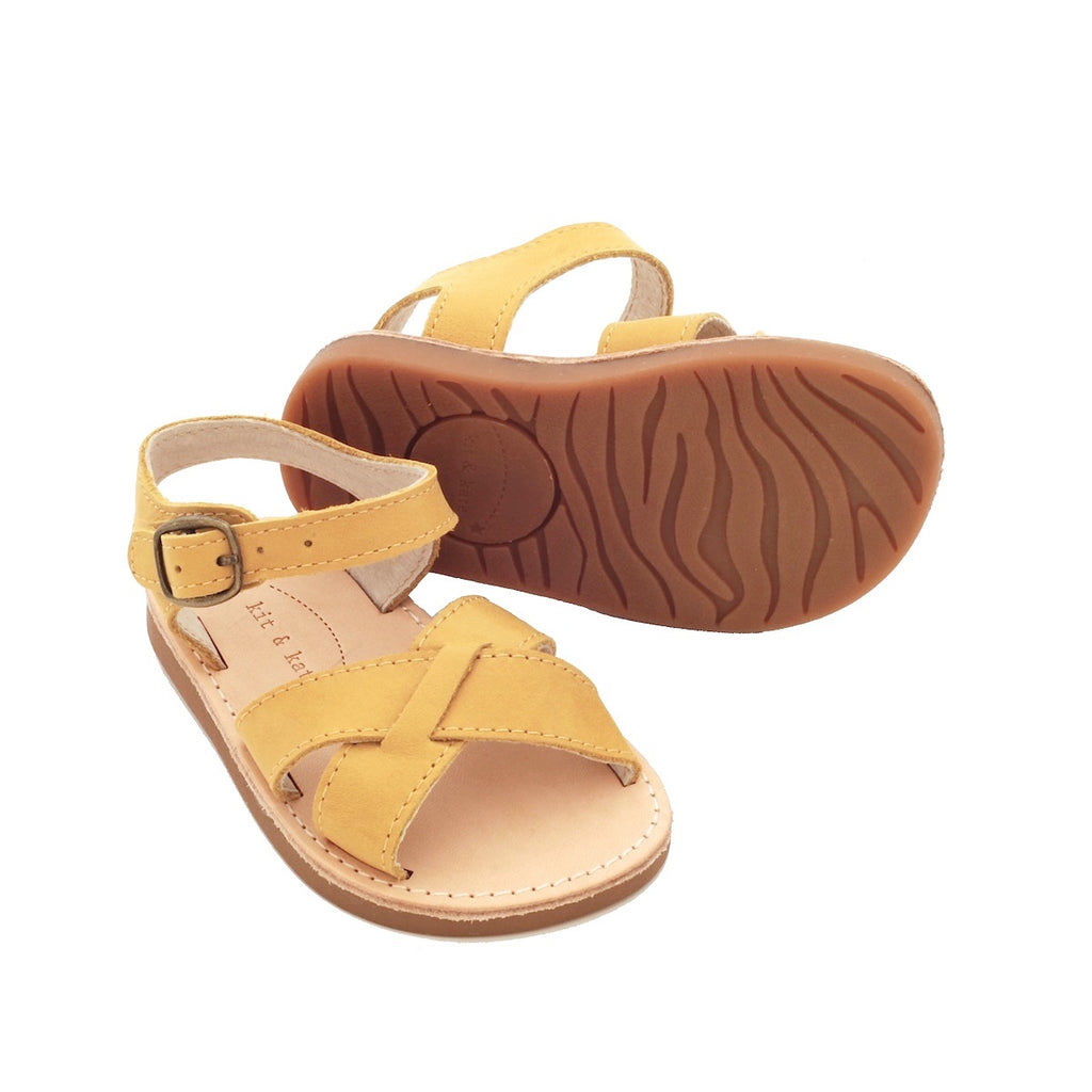 Sunday Baby & Kids Sandals Mustard