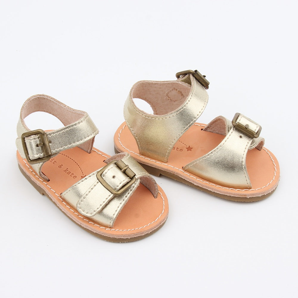 Scout Baby Sandals Antique Gold