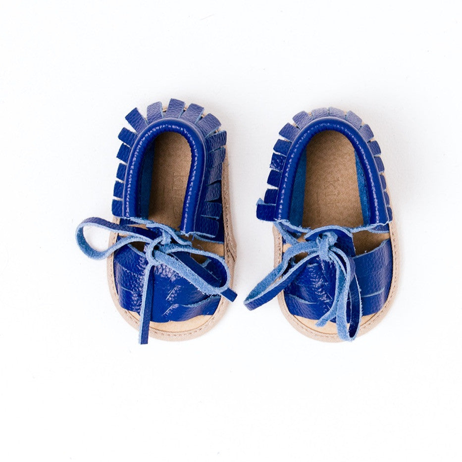 Baby Sandals - Cali Blue for babies toddlers and children, natural leather boys & girls, Kit & Kate Australia Perth 5