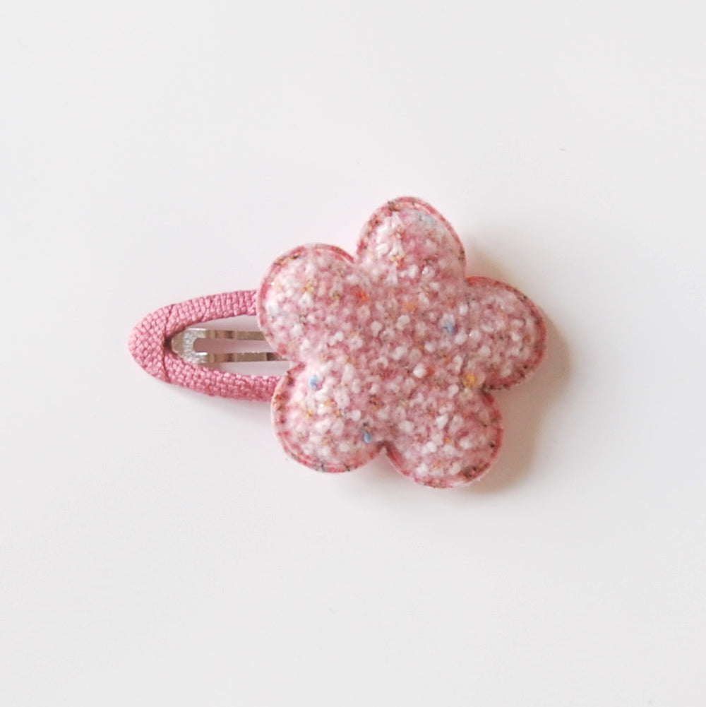 Kit & Kate Cloud Children's Hair Clips - Raspberry