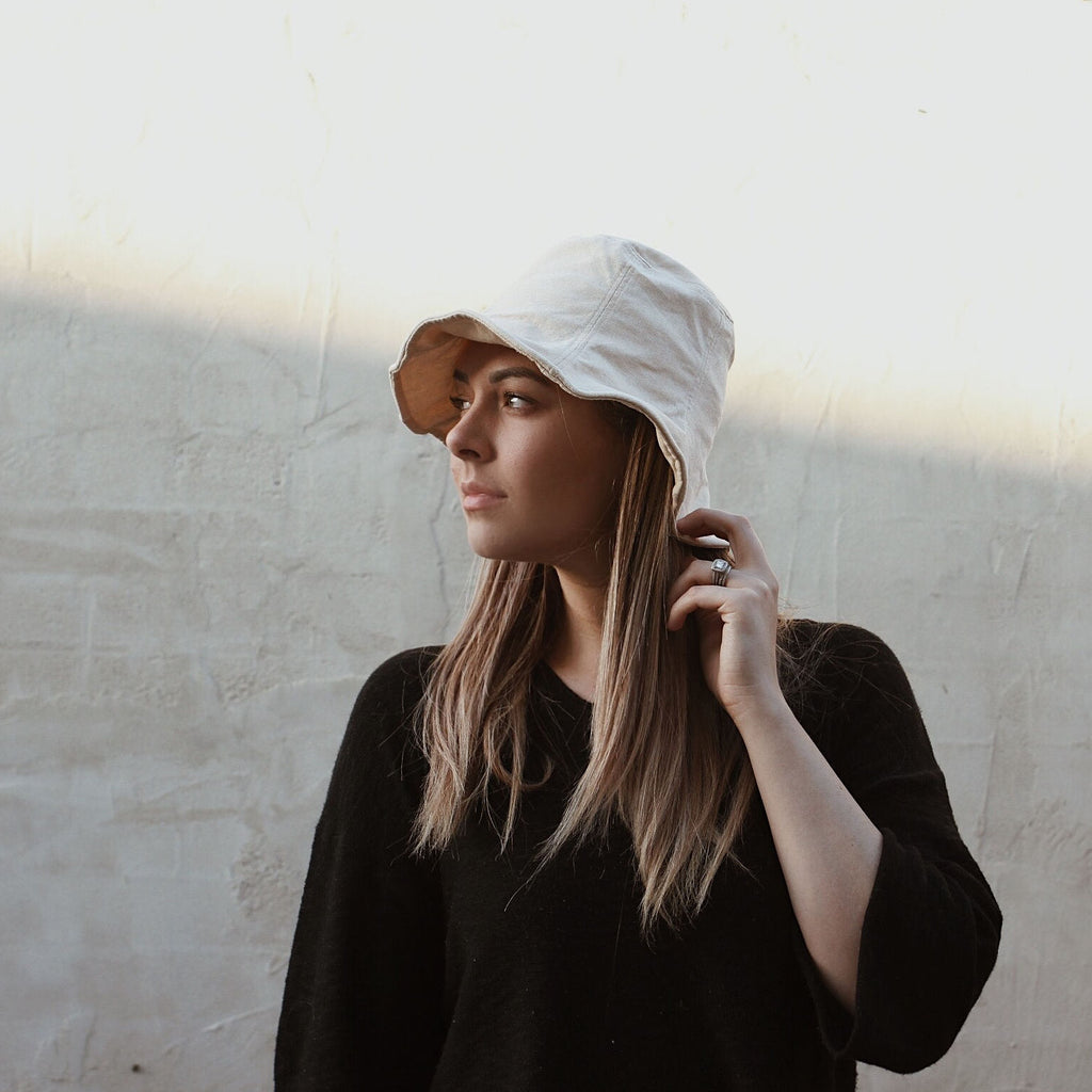Classic Cotton Bucket Hats for Ladies, Women and Mama's - Kit & Kate 121