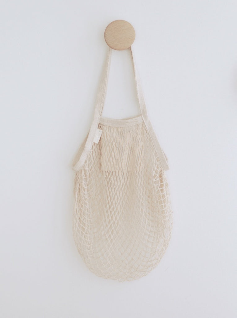 Long Handle Cotton String Bag