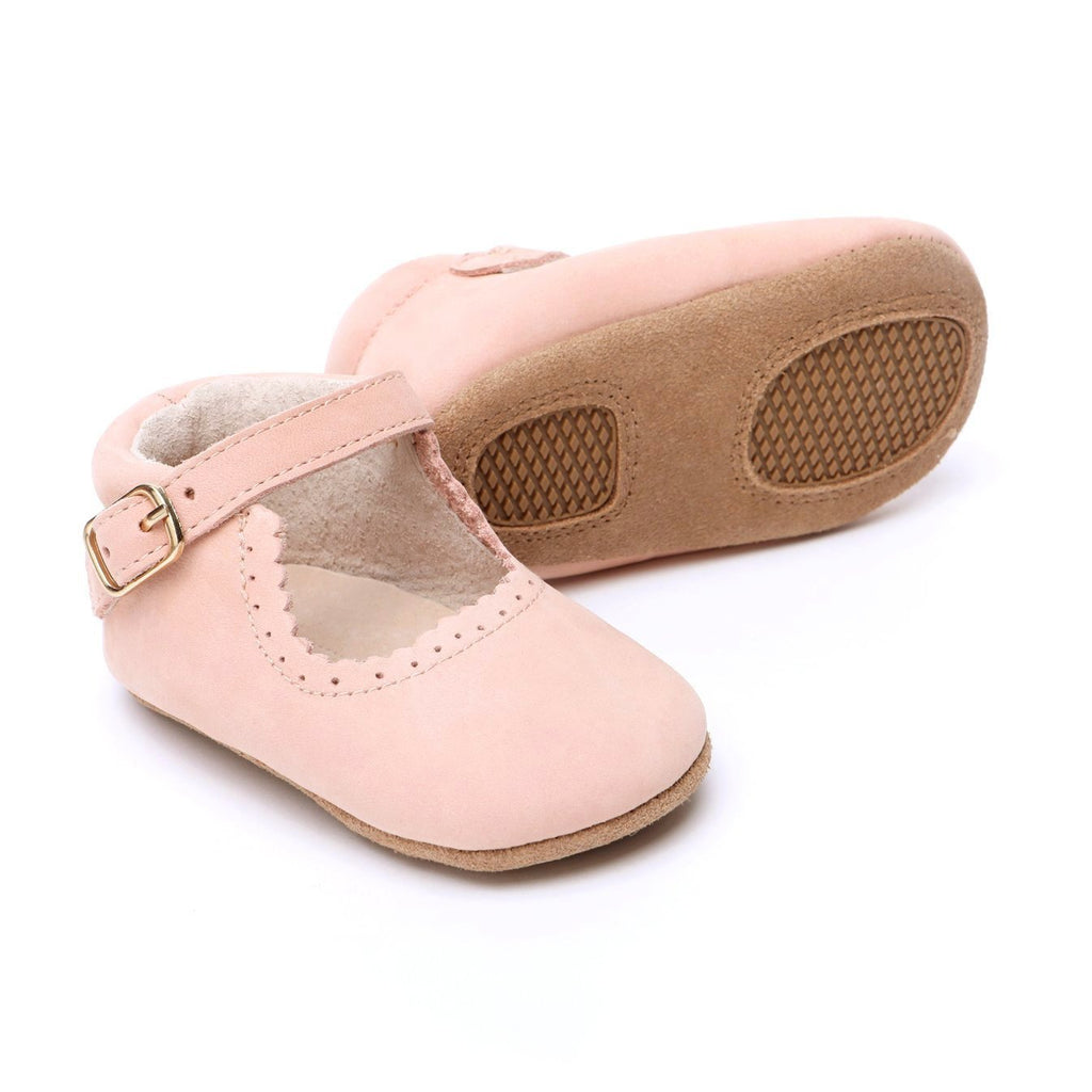 Eleanor Leather Baby Mary Jane Shoes for Babies and Toddlers - Kit t& Kate 2