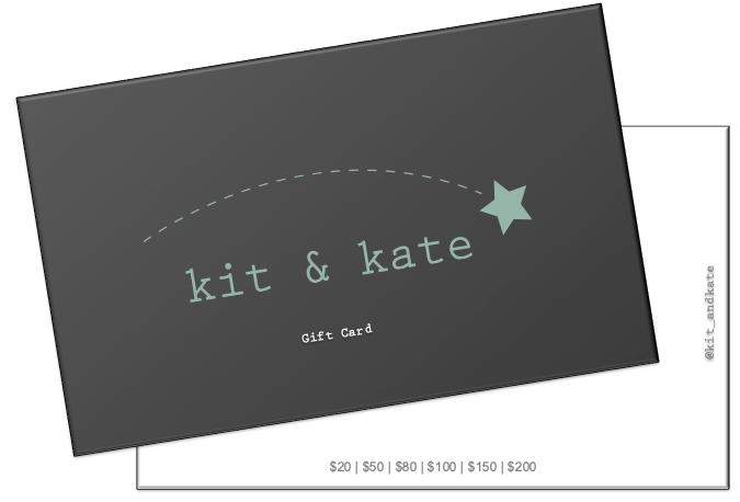 Kit & Kate Gift Card - Get the perfect pair of baby, toddler or children's shoes boy & girls for a friend or relative without the stress. Let them choose the footwear that they would like 87364763