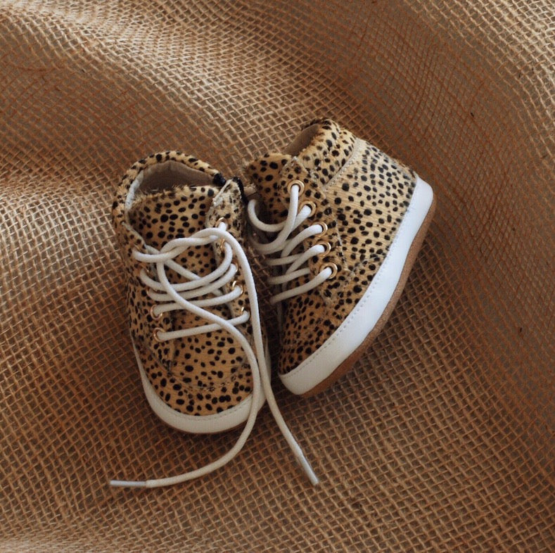 Brooklyn Baby High Top Sneakers Wild