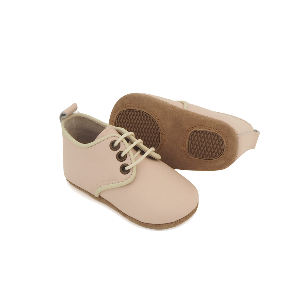 Baby Shoes - Baby Oxford Shoes for Babies & Toddlers. Soft Soles Natural Leather 4