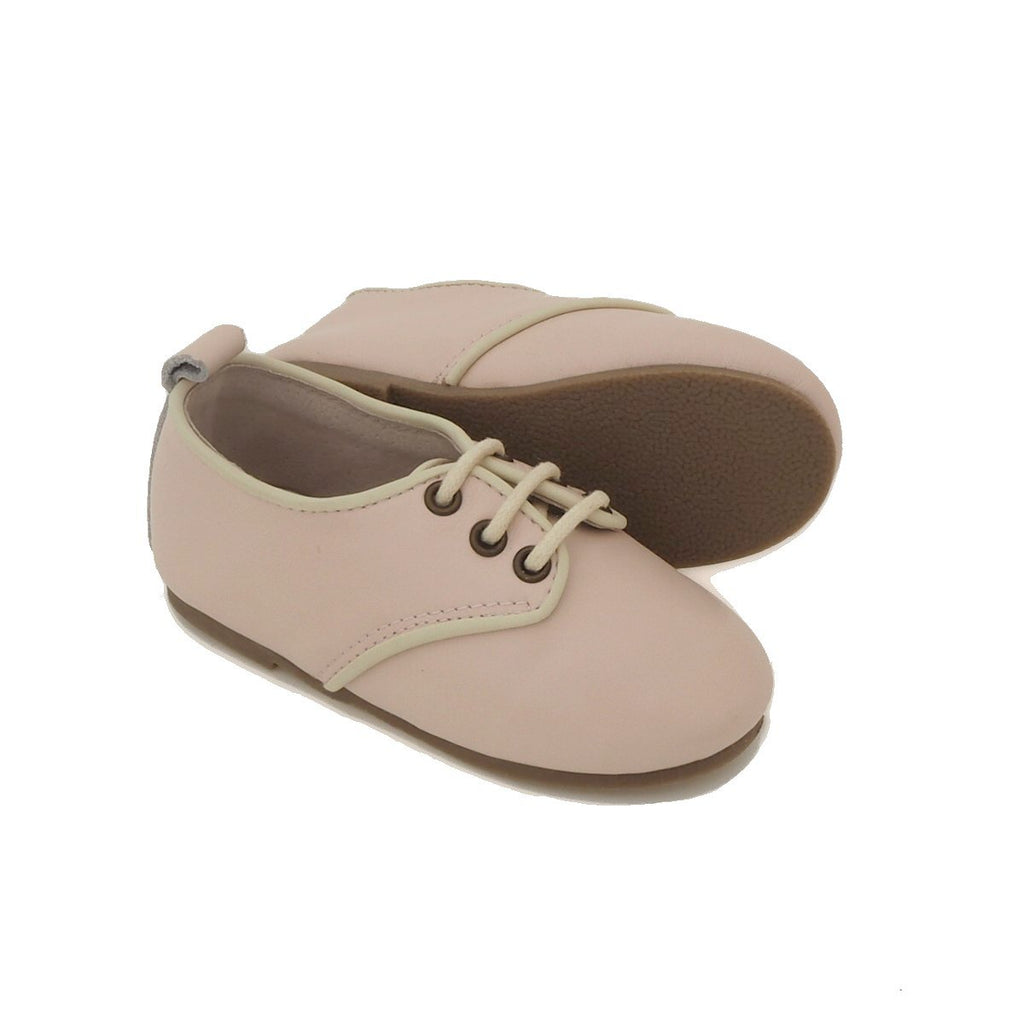 Children's Pink Oxford Shoes for Children & Kids. Natural Leather, super comfortable, quality, stylish boys & Girls Kit & Kate 9