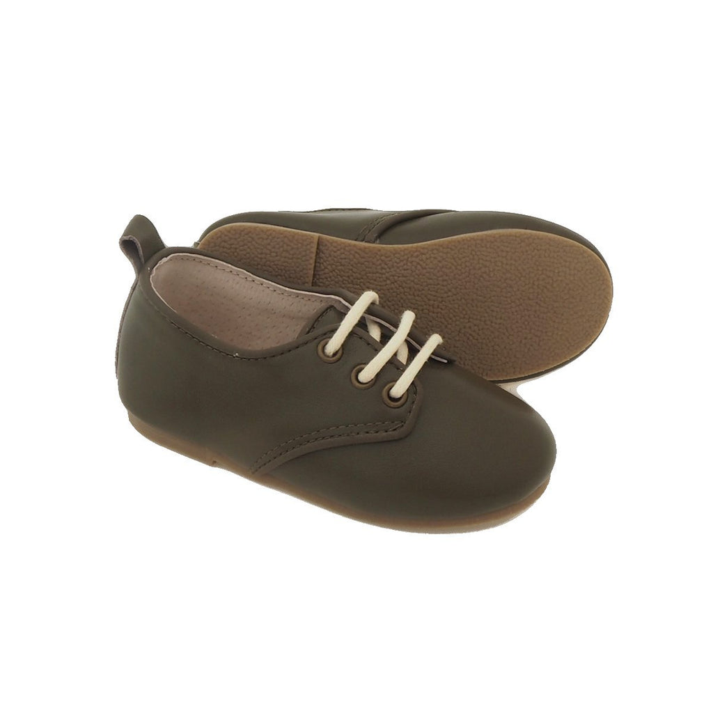 Children's Oxford Shoes for Children & Kids. Natural Leather8