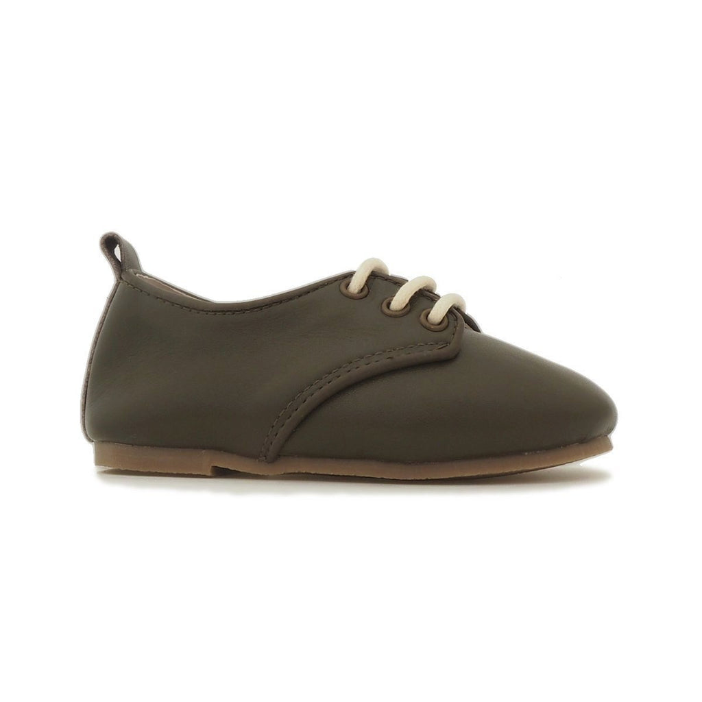 Children's Oxford Shoes for Children & Kids. Natural Leather7