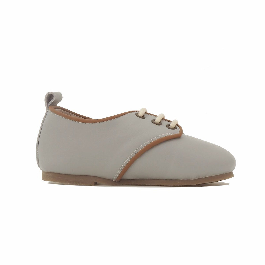 Children's Oxford Shoes for Children & Kids. Natural Leather 1