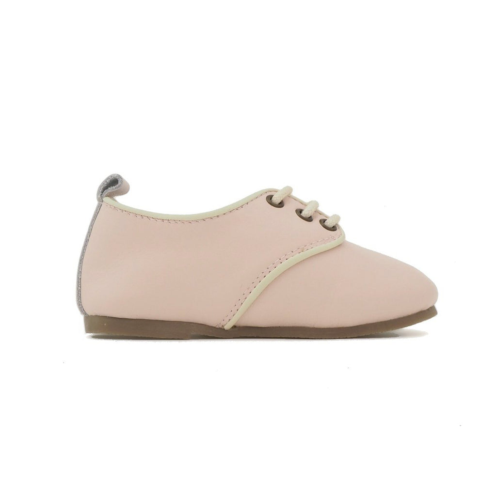 Children's Pink Oxford Shoes for Children & Kids. Natural Leather, super comfortable, quality, stylish boys & Girls Kit & Kate 8