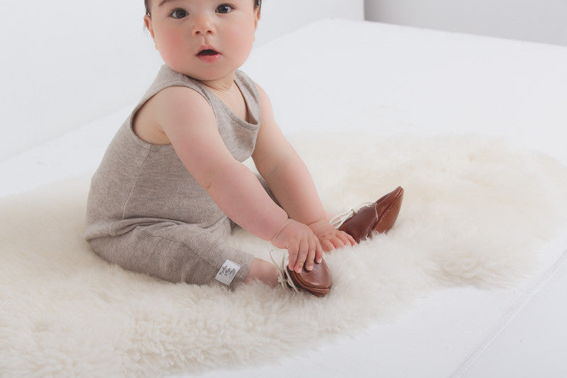 Baby Shoes -  Oxford Shoes for Babies & Toddlers. Boys & Girls, Kit & Kate Australia Perth Soft Soles Natural Leather 19