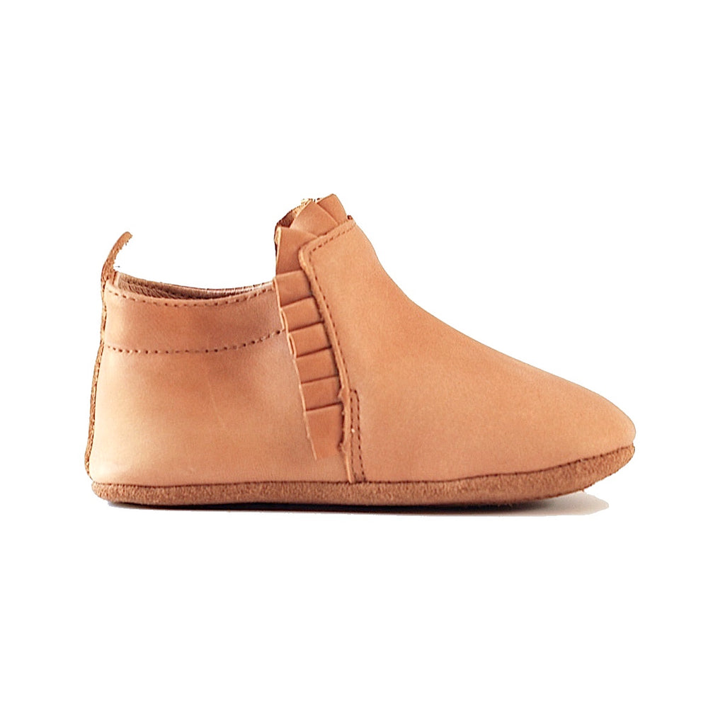 Lacey Slip Ons - Caramel