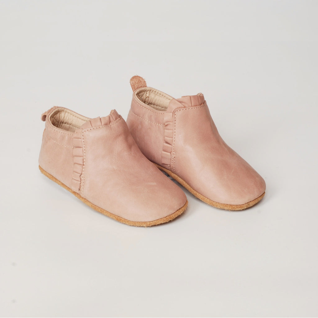 Lacey Slip Ons - Old Rose