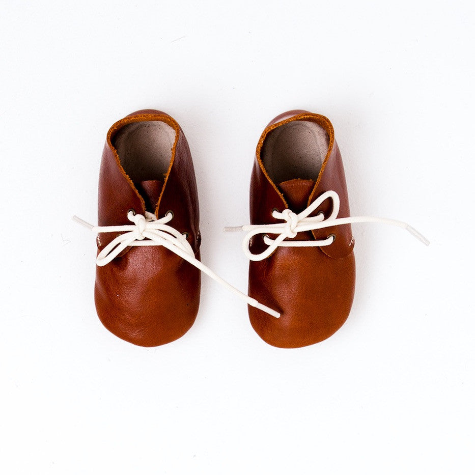 Baby Shoes -  Oxford Shoes for Babies & Toddlers. Boys & Girls, Kit & Kate Australia Perth Soft Soles Natural Leather 18