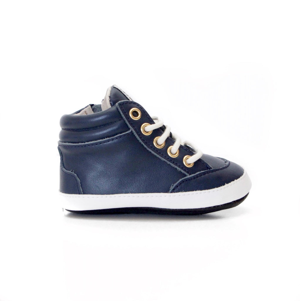 Brooklyn High Tops Navy