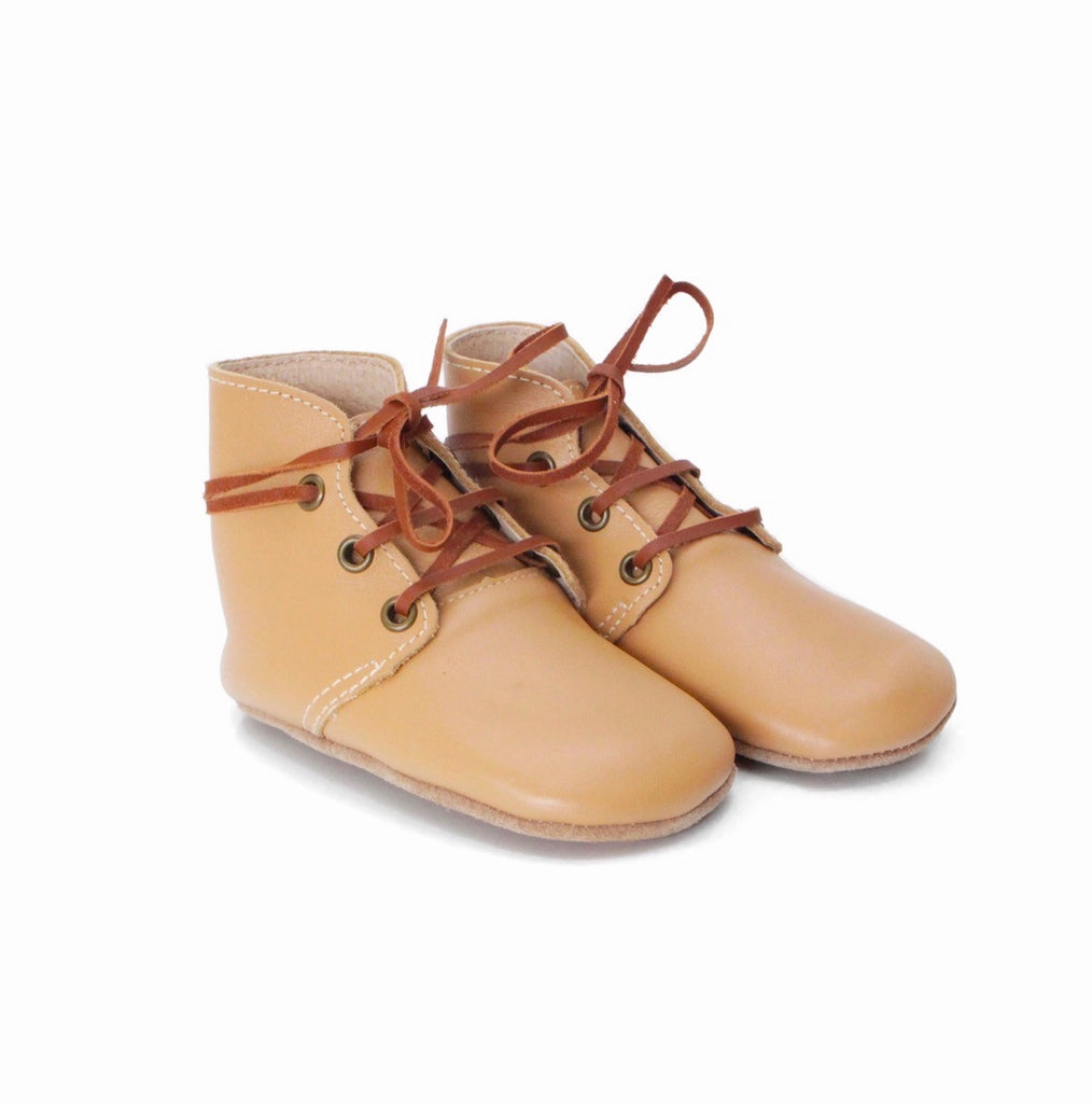 Baby Shoes - Aspen baby boots, shoes for babies & toddlers, soft soles natural leather 5