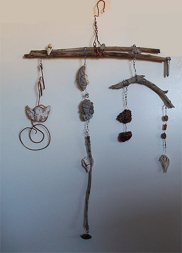 kinetic art created with found objects