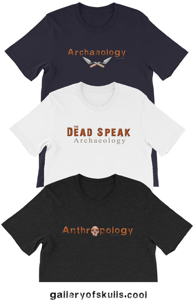 archaeology t shirts
