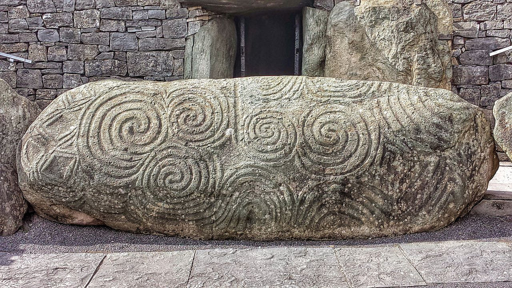 entry stone at Newgrange tomb