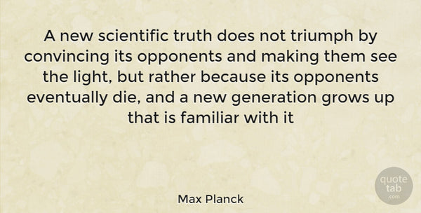 Max Plank quote