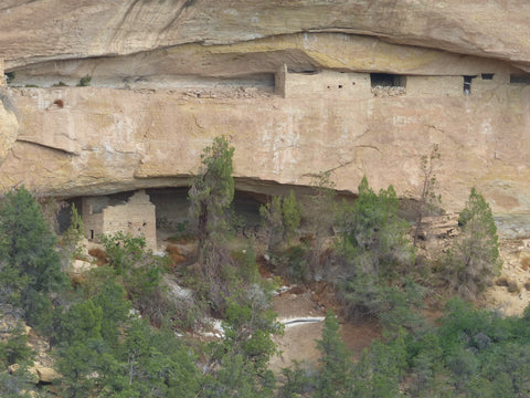 cliff dwelling mesa verde national park
