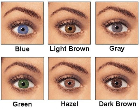 picture of different colored eyes