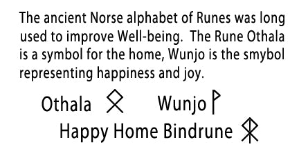 bindrune to attract happiness in the home