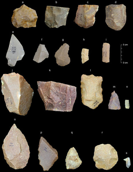 stone tools from India 385,000 years ago