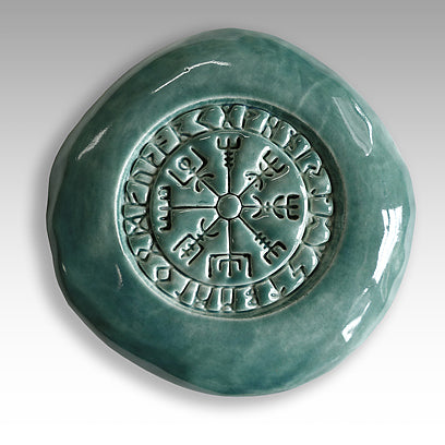 Icelandic Magical Stave called Vegvisir or The Wayfinder.