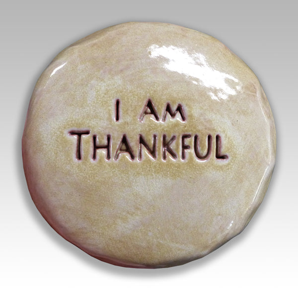 I am thankful words on talisman