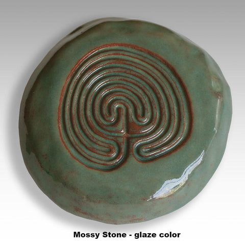Labyrinth Talisman representing a journey to one's inner being.