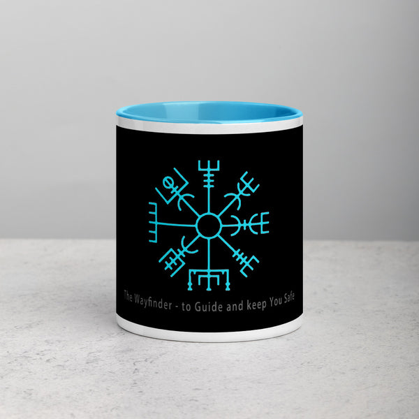 Icelandic symbol for guidance, protection and good luck coffee cup