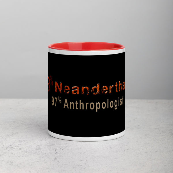 coffee cup 3% Neanderthal 97% Anthropologist
