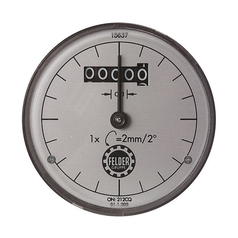 Felder Thickness Planing Dial Indicator (mm)