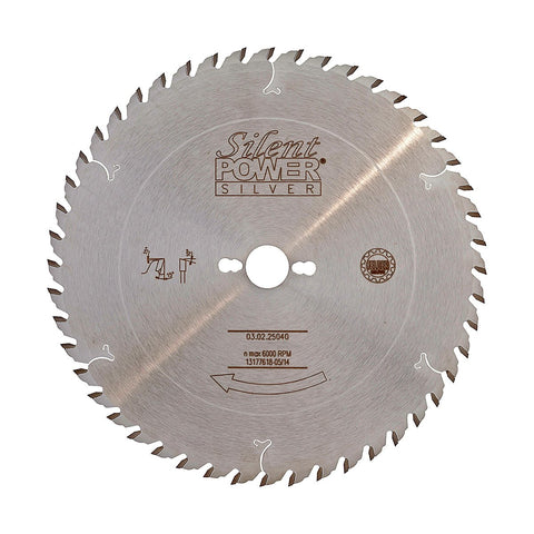Felder Universal Rip Saw Blade 250mm 40 Tooth 30mm Bore
