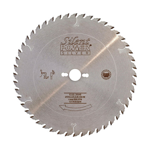 Felder Universal Rip Saw Blade 300mm 48 Tooth 30mm Bore