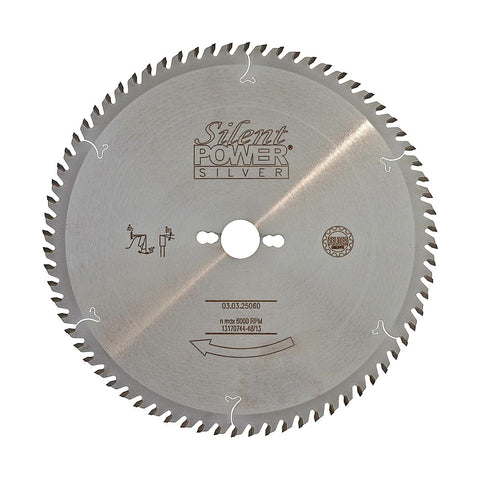 Felder Fine Sizing Cut Saw Blade 250mm 60 Tooth 30mm Bore