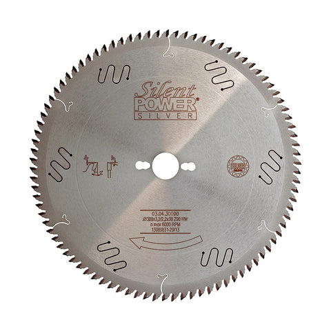 Felder Super-Fine Sizing Saw Blade 300mm 90 Tooth 30mm Bore
