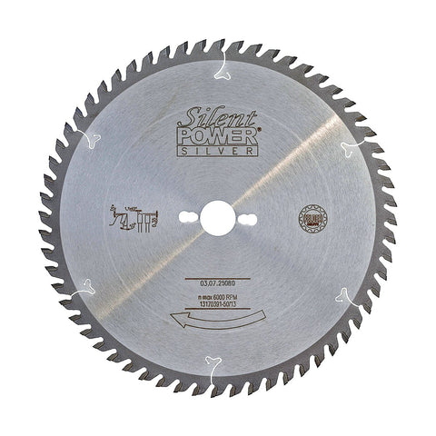 Felder Saw Blade for Laminated Boards 250mm 80 Tooth 30mm Bore