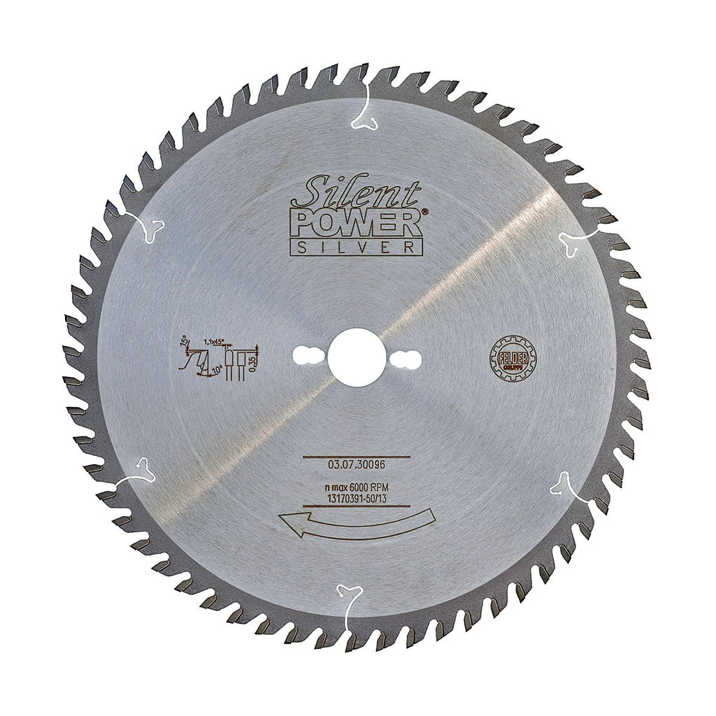 Felder Saw Blade for Laminated Boards 300mm 96 Tooth 30mm Bore