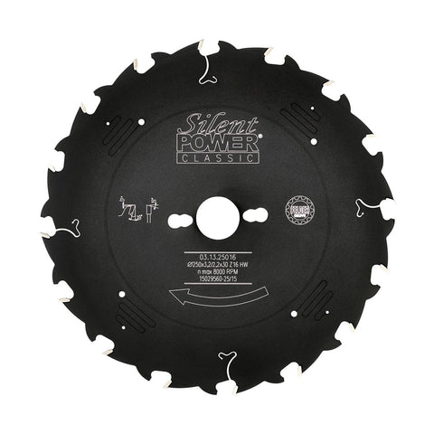Felder Universal Rip Saw Blade 250mm 16 Tooth 30mm Bore