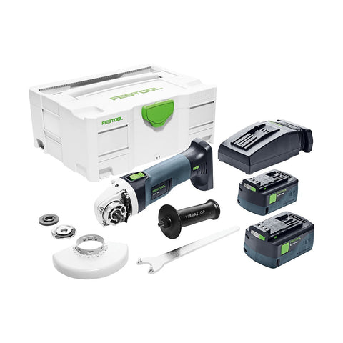 "Festool AGC 18-115 18V 4-1/2"" Cordless Grinder EBI-Plus"