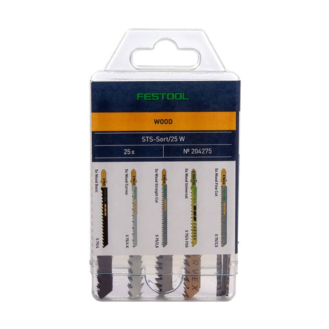 Festool Jigsaw Blade Assortment For Wood