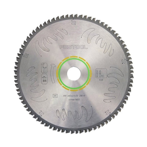 Festool Kapex Fine 80-Tooth Saw Blade