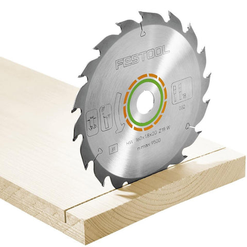 Festool HK 55 Standard Saw Blade 18 Tooth