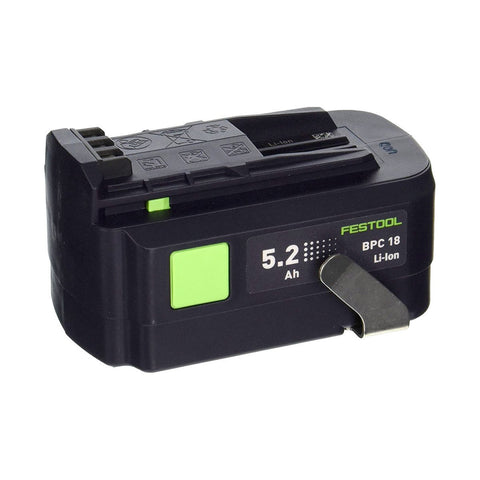 Festool BPC 18V 5.2 Ah Li-Ion Battery