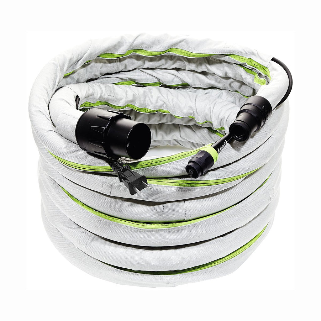 Festool 10m Anti-Static Hose with Integrated Plug-It Cord & Sleeve