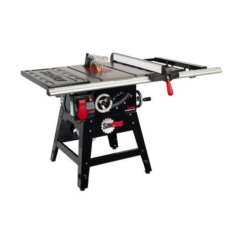 "SawStop 10"" 1.75HP Contractors Saw 30"" Fence"