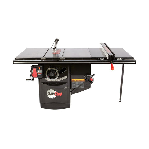 "SawStop 10"" Industrial Cabinet Saw 36"" Fence 3HP 1-Phase"
